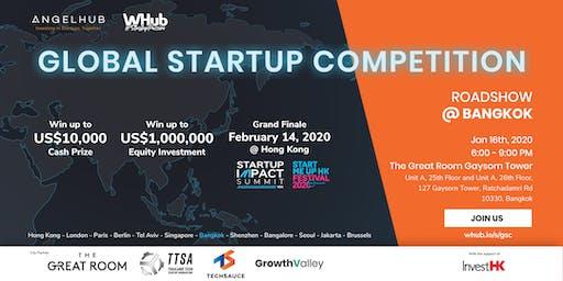 Global Startup Competition - Bangkok roadshow - AngelHub & WHub