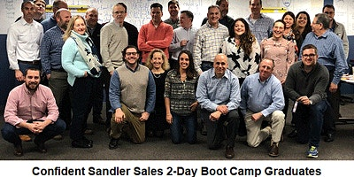 Sandler Sales 2-Day Boot Camp (Zoom Live Streming)
