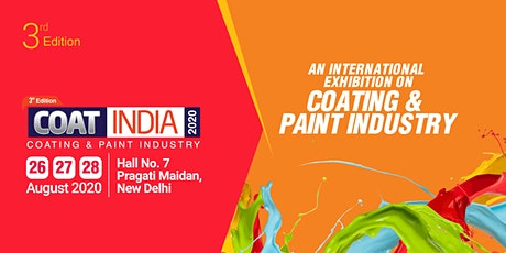 3rd Coat India 2020 tickets