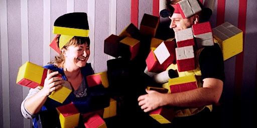 Inclusive Autism Family Social with AFFIX building blocks