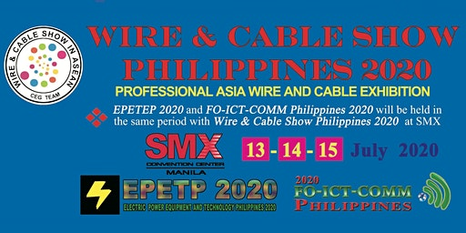 Wire and Cable Show Philippines 2020