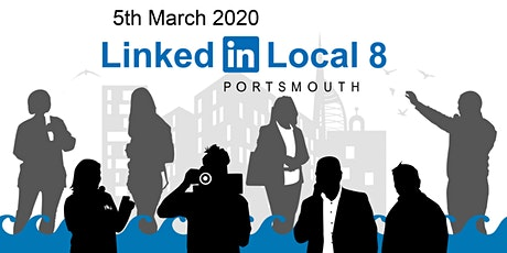 LinkedIn Local Portsmouth 8 tickets
