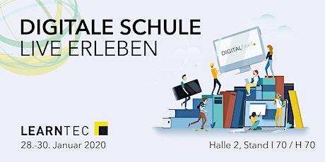 LEARNTEC 2020 - Fachtagung DigitalPakt Schule Tickets