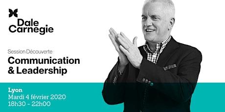 Communication & Leadership - Soirée de formation à Lyon billets