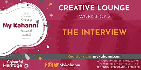 Workshop 2 - The interview [Evening Session] tickets