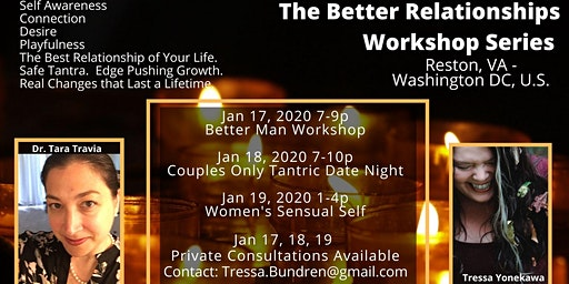 Better Man Workshop:  The Better Relationship Series