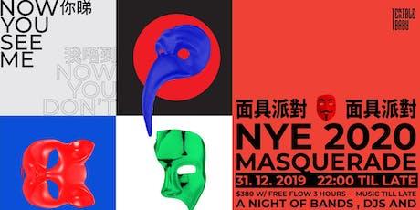 NYE 2020 Masquerade  除夕倒數面具派對 tickets