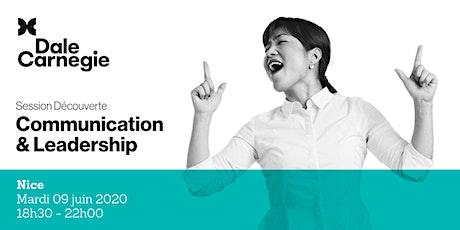 Communication & Leadership - Soirée de formation à Nice billets