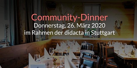itslearning & Fronter Community-Dinner (didacta 2020) Tickets
