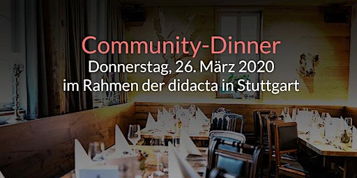 itslearning & Fronter Community-Dinner (didacta 2020)