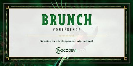 Brunch-conférence de la Semaine du développement international billets