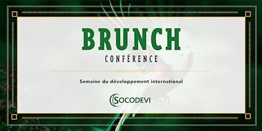 Brunch-conférence de la Semaine du développement international