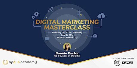 Apollo Academy Digital Marketing Masterclass tickets