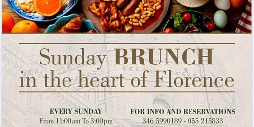 BRUNCH nel centro di FIRENZE