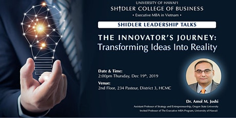 The Innovator's Journey: Transforming Ideas Into Reality tickets