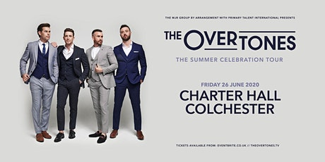 The Overtones (Charter Hall, Colchester) tickets