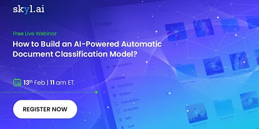 How to build an AI-powered automatic Document classification model?