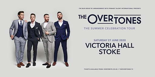 The Overtones (Victoria Hall, Stoke)