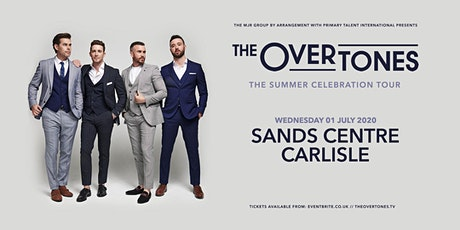 The Overtones (Sands Centre, Carlisle) tickets