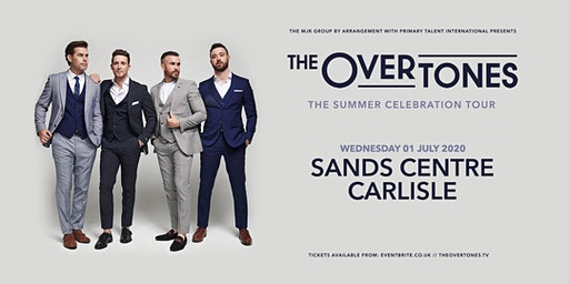 The Overtones (Sands Centre, Carlisle)
