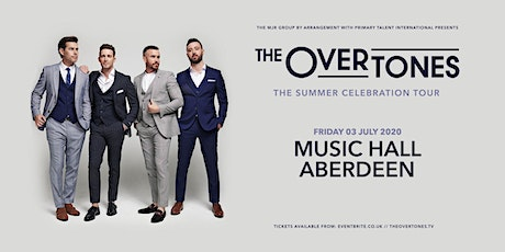 The Overtones (Music Hall, Aberdeen) tickets