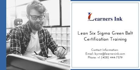 Lean Six Sigma Green Belt Certification Training Course (LSSGB) in Bathurst tickets