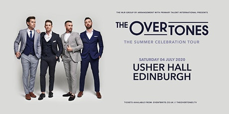 The Overtones (Usher Hall, Edinburgh) tickets