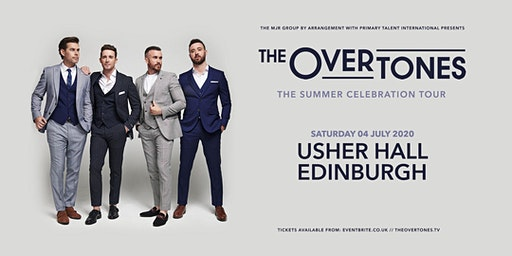 The Overtones (Usher Hall, Edinburgh)