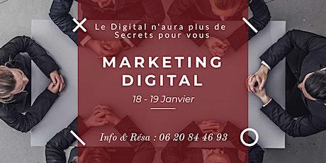 Formation Pro en Marketing Digital billets