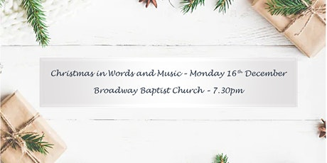 Christmas in Words and Music tickets