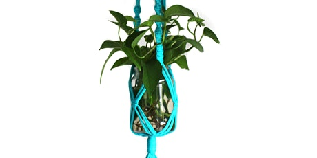 Happy Mondays: Make your own macramé plant hanger ** SOLD OUT** tickets