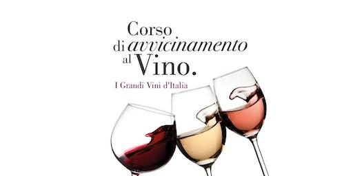Corso di avvicimento al Vino 2° Livello - I Grandi Vini d'Italia