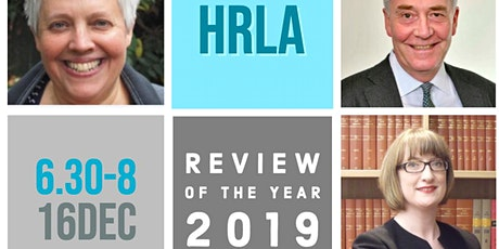 HRLA Review of the Year 2019 tickets