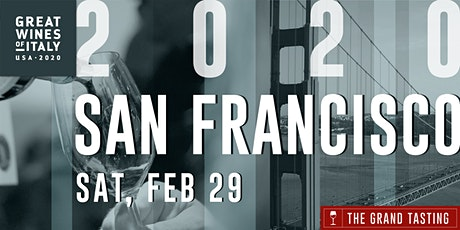 Great Wines of Italy 2020: San Francisco Grand Tasting tickets