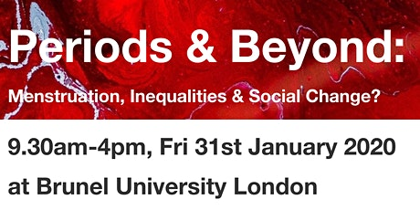 Periods and Beyond: Menstruation, Inequalities & Social Change tickets