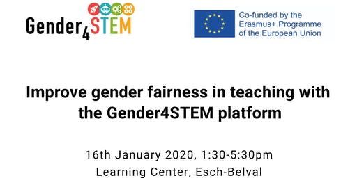 Learning by doing with the Gender4Stem platform