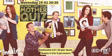 De How i Met Your Mother Quiz | Rotterdam tickets