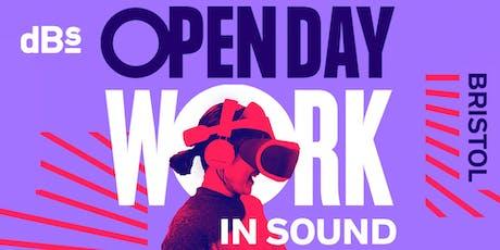 dBs Music Bristol | Higher Education Open Day tickets