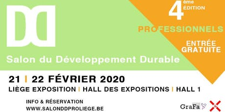Salon du Développement Durable 2020 tickets