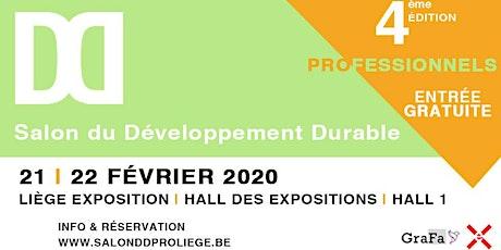 Salon du Développement Durable 2020 billets