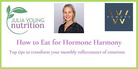 How to Eat for Hormone Harmony tickets