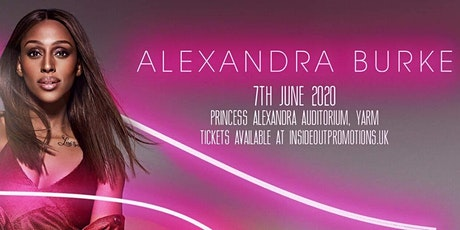 Alexandra Burke plus Support tickets