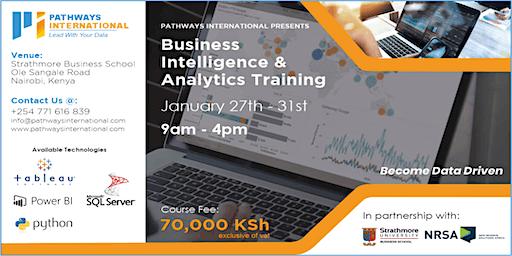 Business Intelligence & Analytics Training