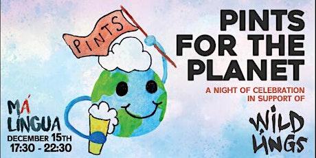 Pints For The Planet bilhetes