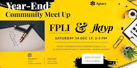 JKTYP x FPLI : Year-End Community Meetup tickets
