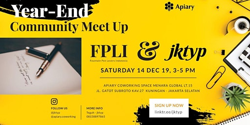 JKTYP x FPLI : Year-End Community Meetup