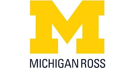 Ross BBA Cross Campus Transfer Application Workshop tickets