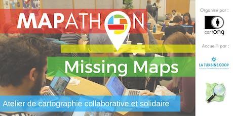 Mapathon Missing Maps à Grenoble @La Turbine.coop billets