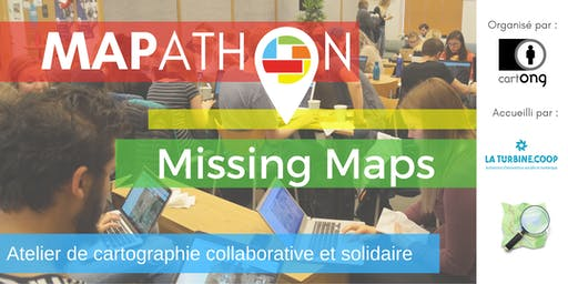 Mapathon Missing Maps à Grenoble @La Turbine.coop