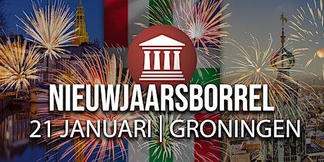 Nieuwjaarsborrel FVD Groningen tickets